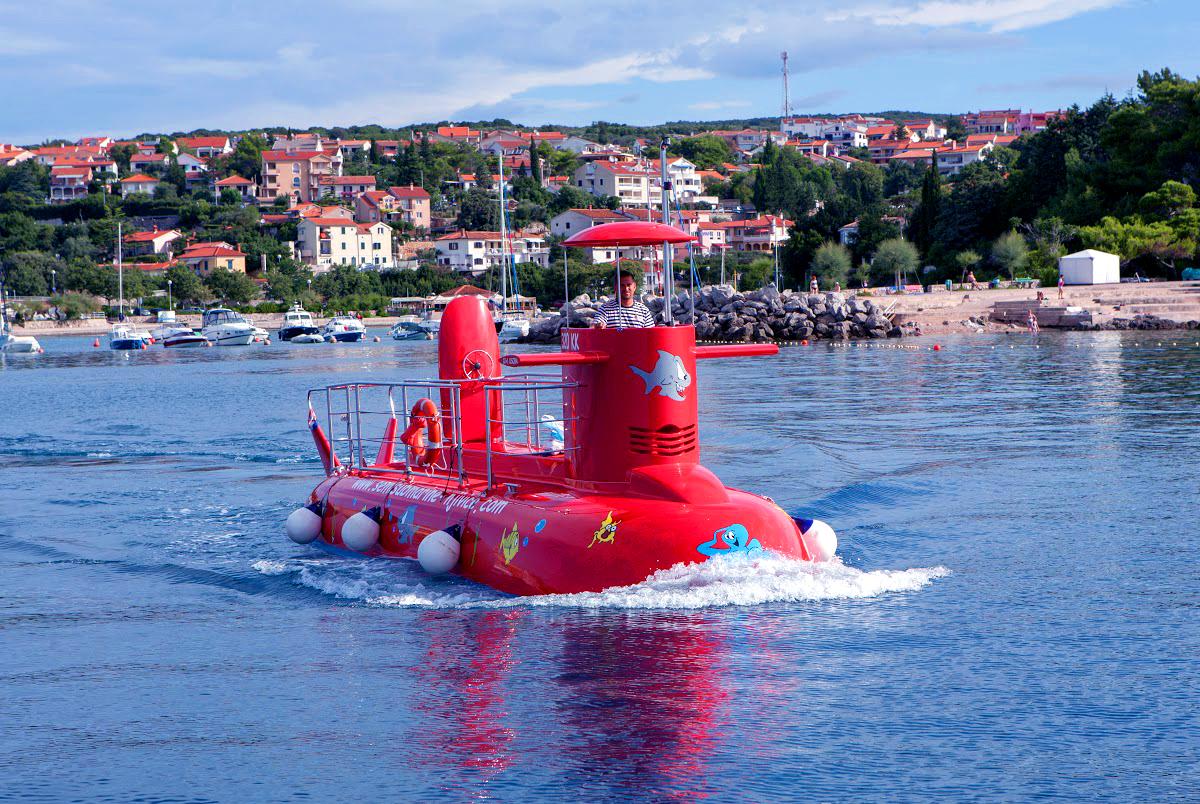 Semisubmarine Krk - Big Marlin
